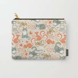 Company in my Garden Carry-All Pouch