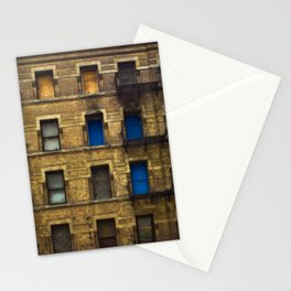CONDEMNED WITH 3 BLUE DOORS Stationery Cards