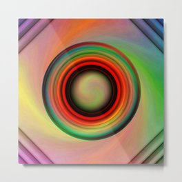 Multicolored abstract no. 12 Metal Print