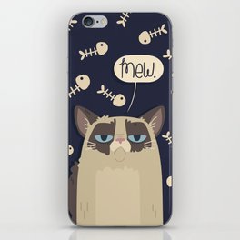 Grump for Days iPhone Skin