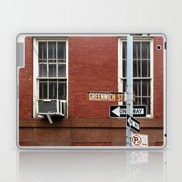 Greenwich Street in New York Laptop & iPad Skin