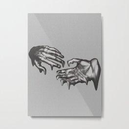 Efflux of time Metal Print
