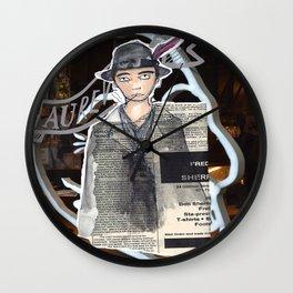 La Mode.  Wall Clock
