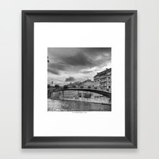 Le Pont Framed Art Print