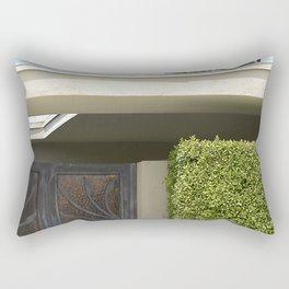 Cool, Clean Lines Architecture Design Rectangular Pillow