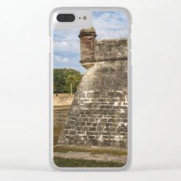 Castillo de San Marcos Clear iPhone Case