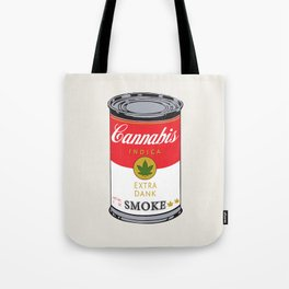Campbell's Soup (Cannabis Indica) Tote Bag