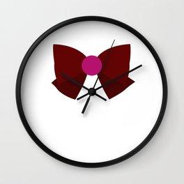 Sailor Pluto Bow Wall Clock