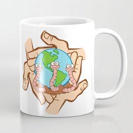 Earthworm Recycler's World Coffee Mug