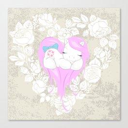 g1 my little pony Heart of Sundance Canvas Print