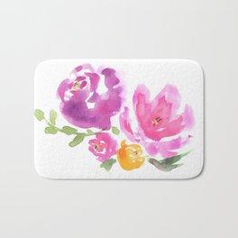 Violet Blooms Bath Mat