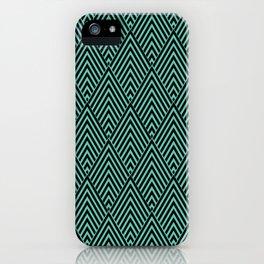Triangle in Diamonds. iPhone Case