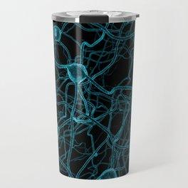 You Get on My Nerves! / 3D render of nerve cells Travel Mug