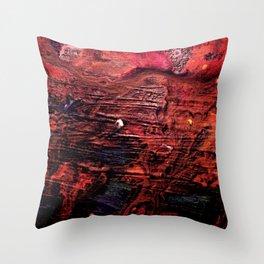 Dark  Sea Symphony Throw Pillow