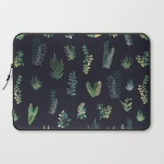green garden at nigth Laptop Sleeve