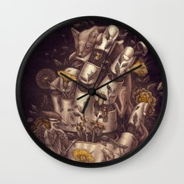 Disperse Wall Clock