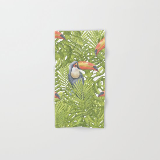 Toucan Hand & Bath Towel