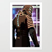 engineer Art Prints featuring The Engineer by sens