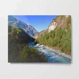 Himalayan River Metal Print