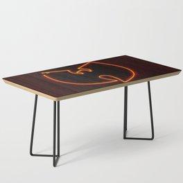 Wu Tang Neon Coffee Table