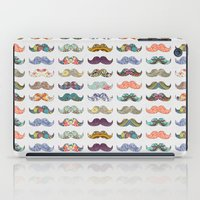 australia iPad Cases featuring Mustache Mania by Bianca Green