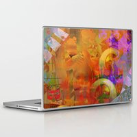 psychadelic Laptop & iPad Skins featuring Weird by Ganech joe