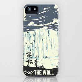 Visit the wall iPhone Case