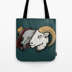 Sheep Skin Tote Bag