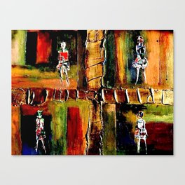 North Shore Girls Canvas Print