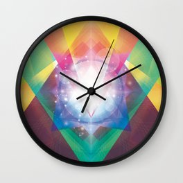 PRYSMIC ORBS II Wall Clock