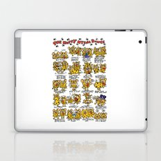 Happy Hyena Dance Laptop & iPad Skin