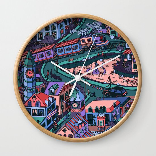 Loch Tess Wall Clock
