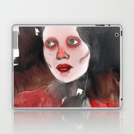 A Touch of Red (study) Laptop & iPad Skin