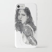 tattoos iPhone & iPod Cases featuring Lust & Tattoos by Art & Ink