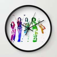spice Wall Clocks featuring Spice Girls. by Greg21