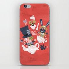 Mad Hatter's Tea Party - Alice in Wonderland iPhone Skin