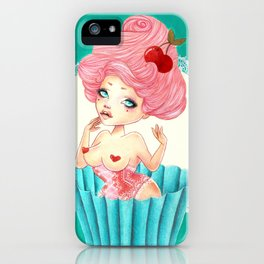 Cupcake Girl iPhone Case