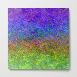 Fluid Colors G252 Metal Print