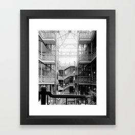 Bradbury Building, Downtown Los Angeles Framed Art Print