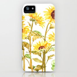 sunflower painting 2020 iPhone Case