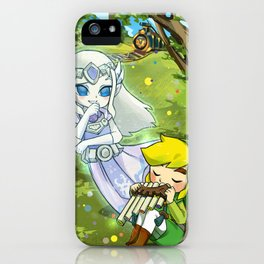 Spirit Tracks   The Legend of Zelda iPhone Case