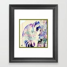 Midnight paint  Framed Art Print