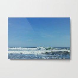 Tofino Surf Metal Print
