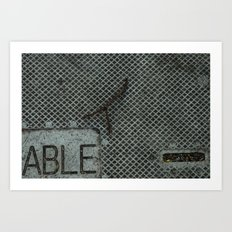 Able Art Print