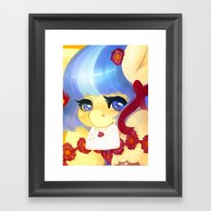 Letter to Rarity Framed Art Print