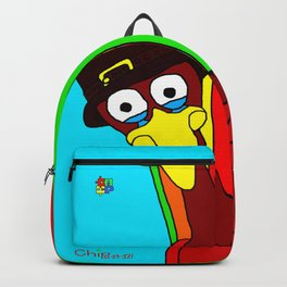 Sad Thanksgiving Turkey Backpack