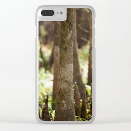 Mangrove Forest Clear iPhone Case