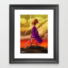 Venus Princess Framed Art Print