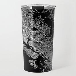 oakland map california Travel Mug