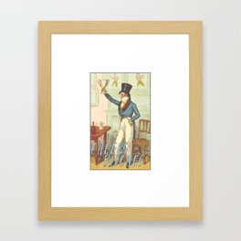 Cheers Bitches Framed Art Print